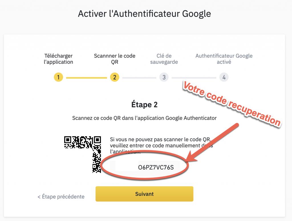 cle de securite authenticator