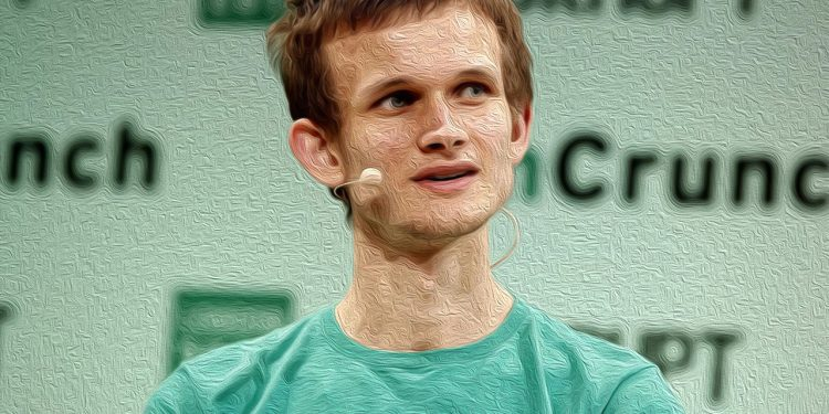 LONDON, ENGLAND - DECEMBER 08: Founder of Ethereum Vitalik Buterin during TechCrunch Disrupt London 2015 - Day 2 at Copper Box Arena on December 8, 2015 in London, England.   John Phillips/Getty Images for TechCrunch/AFP (Photo by John Phillips / GETTY IMAGES NORTH AMERICA / Getty Images via AFP)