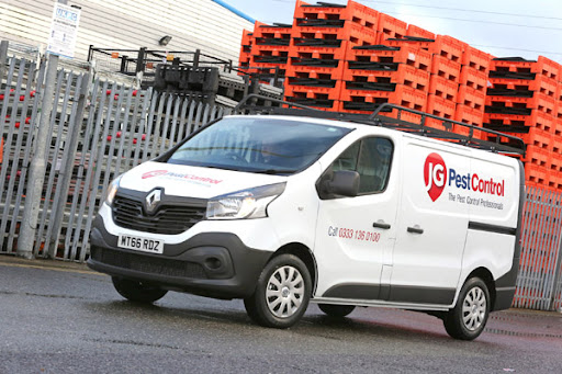 JG Pest Control's new vans will operate nationwide, are on call 24/7/365, and will cover between 20 and 200 miles per day.